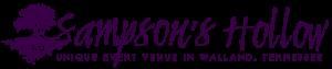 Sampson's Hollow Unique Event Venue