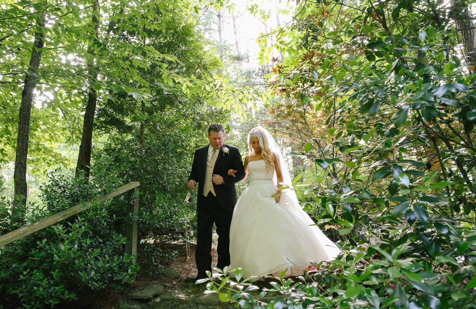 Outdoor Smoky Mountain Elopement