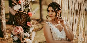 Wedding theme, Boho Brde, Intimate Wedding, Macrame